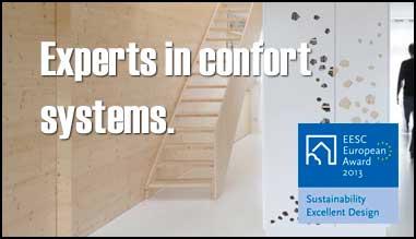 Especialistas em sistemas de conforto.